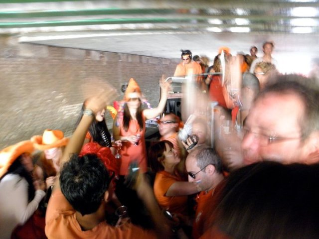 Queen's Day: often a blur