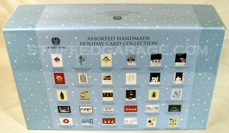 Burgoyne 30 Elegant Hand Crafted Holiday Cards With