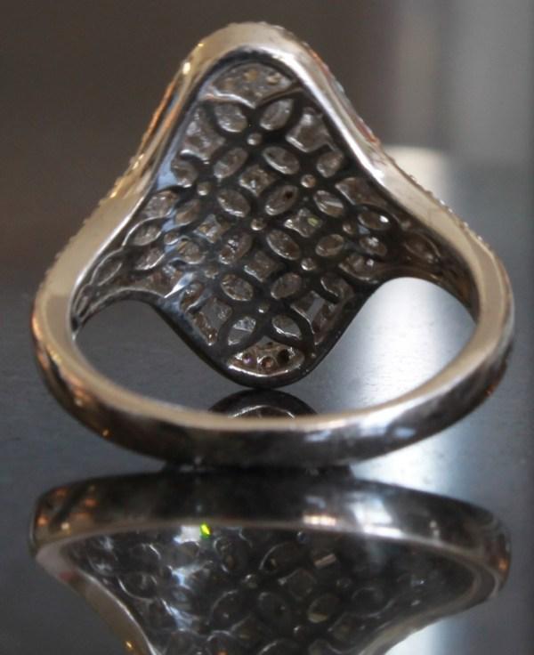 Epiphany Platinum Diamonique Rings