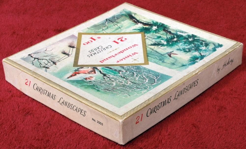 Winter Wonderland 2005 20 Vintage Christmas Cards And