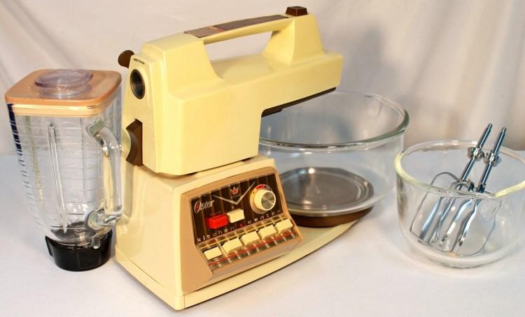 Vintage Oster Imperial Kitchen Center Model 966 04f