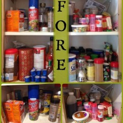 Kitchen Cabinet Boxes Only Aid Stand Mixer Organized Cabinet: Spices