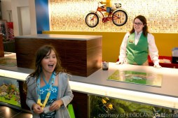 Kid-focused service starting at check-in