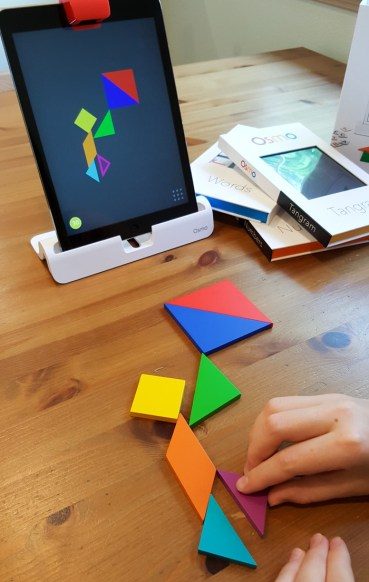 Tangram shape game for Osmo