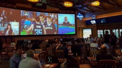 52 foot TV at the Texan Station Restaurant