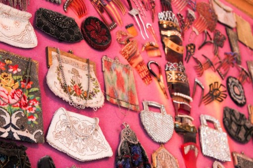 Some feminine artifacts on display at the Copper King Mansion in Butte, Montana