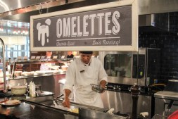 Made to order omelettes