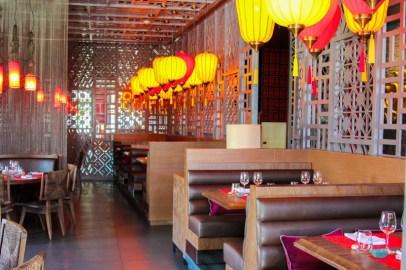 Dining room area at Wok Wok