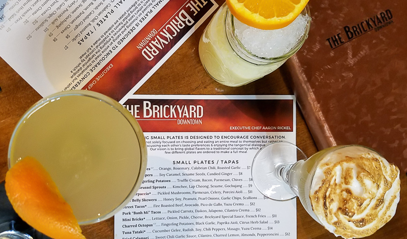 Brickyard Drinks Menu