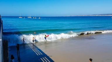 Municipal Beach in Monterey, CA