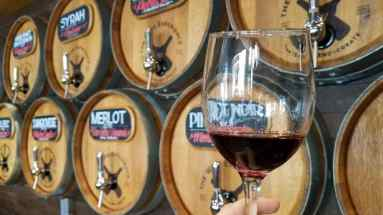 Try your hand at wine blending at The Wine Experience in Cannery Row