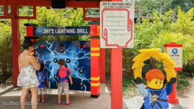 Lightning Drill that has kids chasing flashing lights