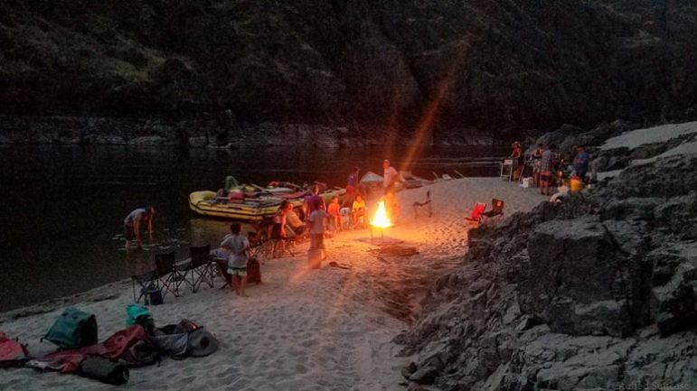 Our final night meant a campfire and s'mores celebration. © Stuffed Suitcase