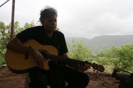 Vijay, music, rain in the Kolwan Valley