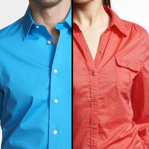 Why The Heck Do Men's and Women's Shirts Button on ...