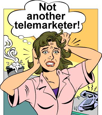 How to cop up with telemarketers