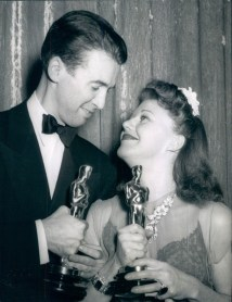 Classic Hollywood #26 - Jimmy Stewart & Ginger Rogers