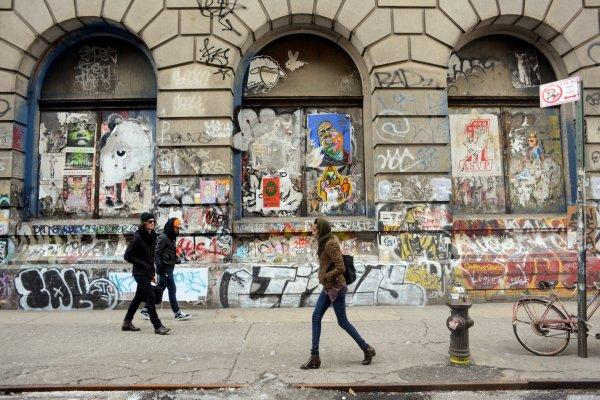 Building New York Graffiti Art