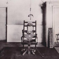 Death By Electric Chair Video Modern White Leather Office 2 The First Execution William Kemmler
