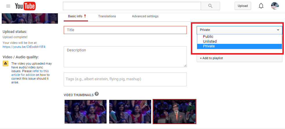 youtube limit viewer