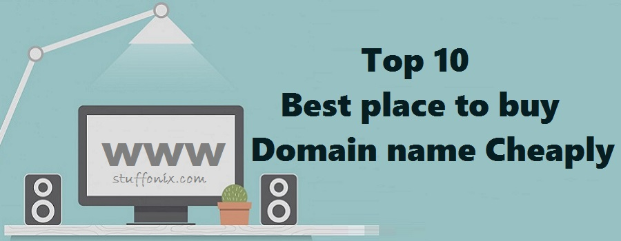 Top 10 best place to buy domain name Cheaply