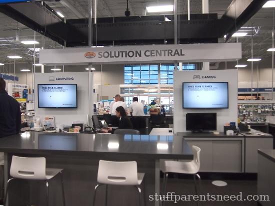 Solution Central at Best Buy