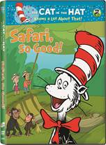 DVD cover for Dr. Seuss' Safari So Good