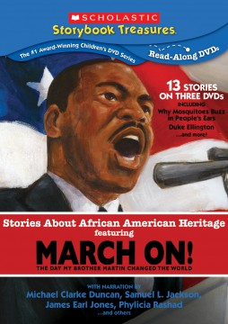 scholastic dvd stories about african american heritage featuring march on
