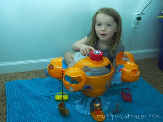 Octonauts octopod play set