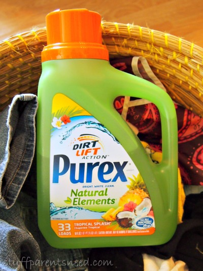 Purex Natural Elements detergent bottle