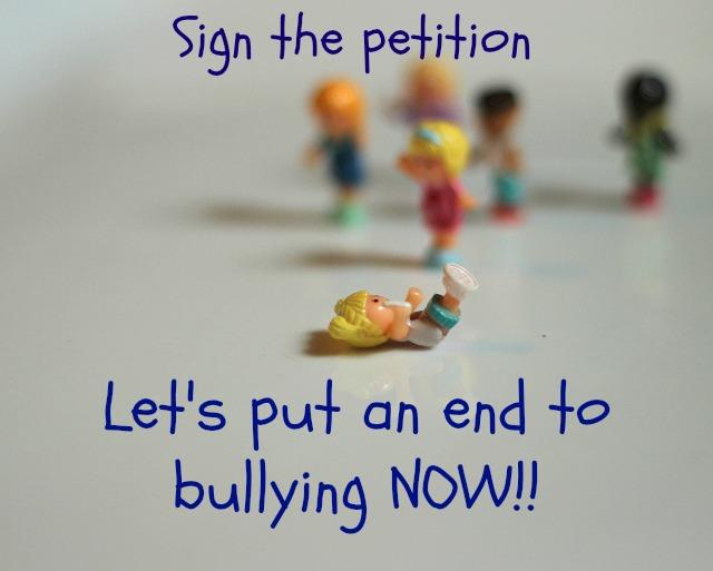 anti-bullying petition