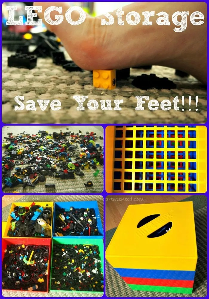 LEGO storage from Box4Blox