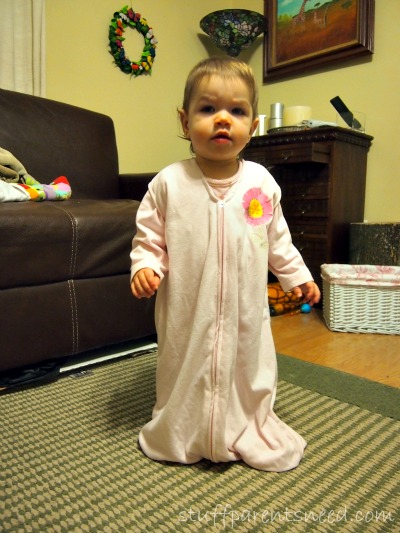 Layah from Stuff Parents Need HALO SleepSack Early Walker