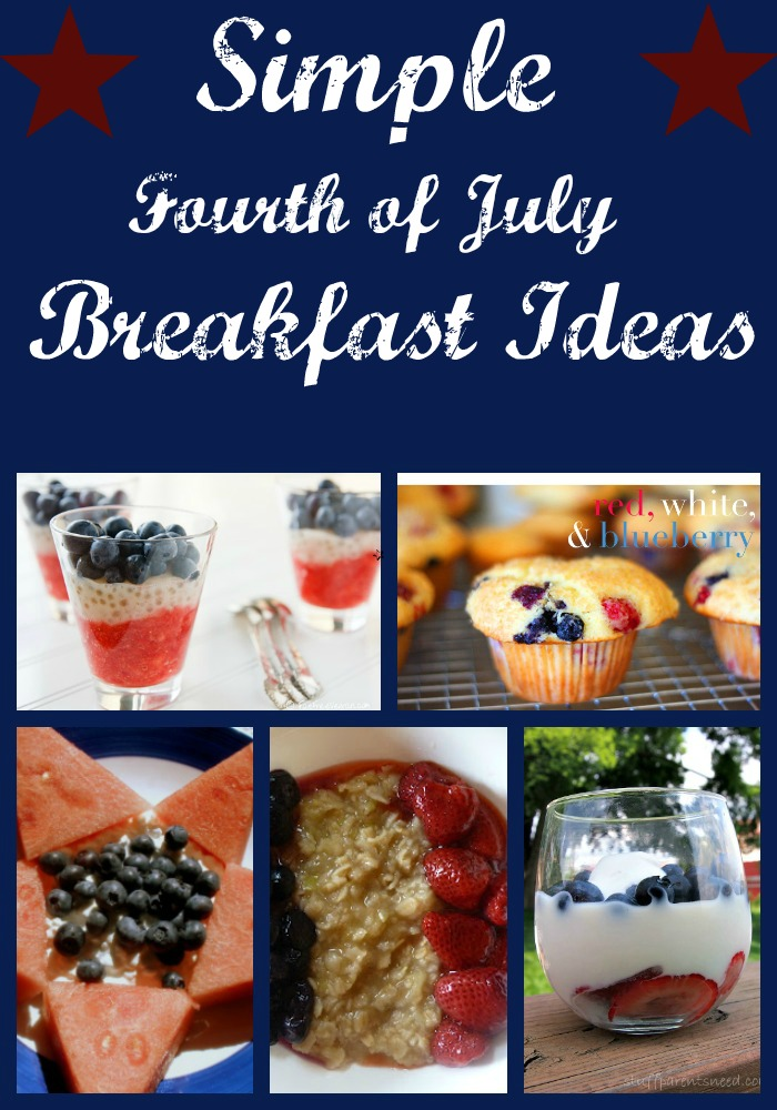 fourth of july recipes: breakfast ideas