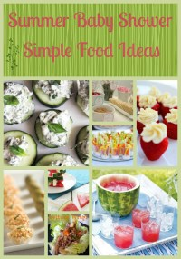 Baby Shower Food Ideas: Baby Shower Ideas Summer