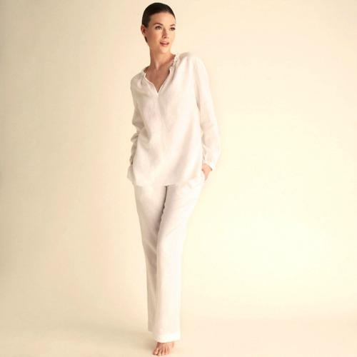 linen pajamas