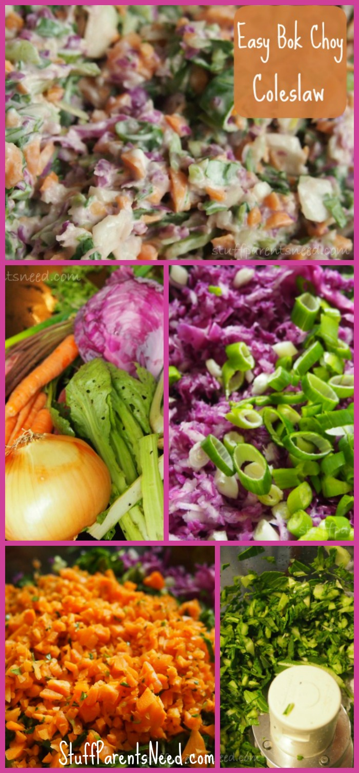easy bok choy recipes farmer's market slaw