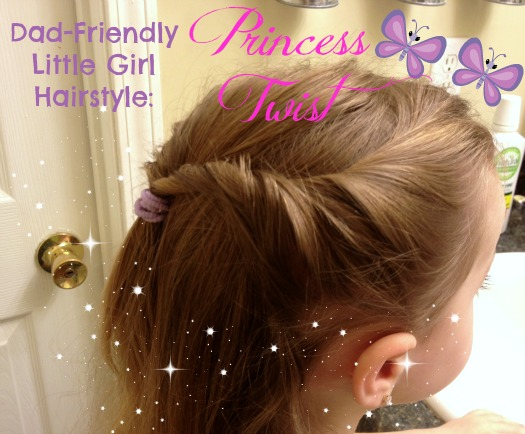 Simple Hairstyle For Girls Easy Enough For Dad! Stuff Parents Need