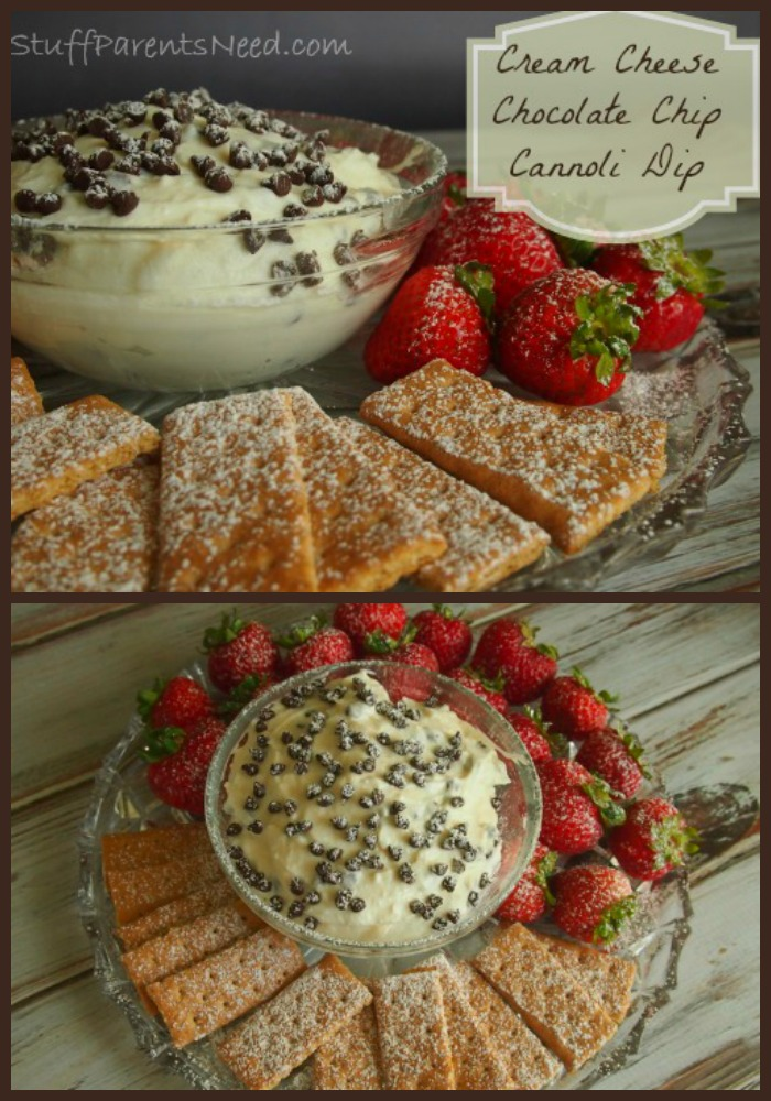 chocolate chip cannoli dip