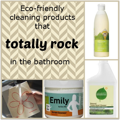 my favorite bathroom cleaning products