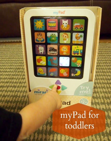 iPad for toddlers: myPad