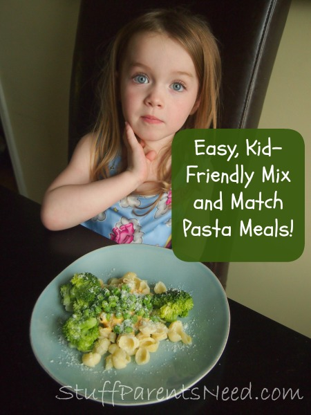 pasta meal mix and match