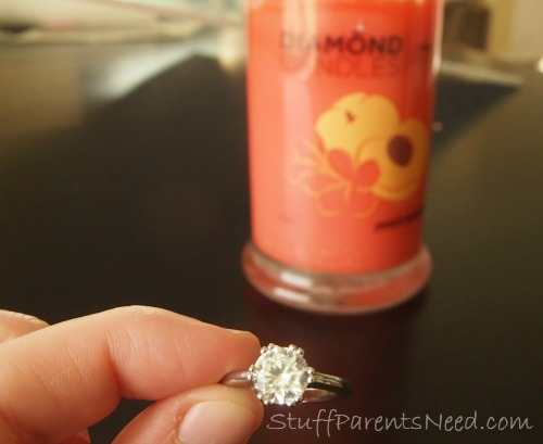 diamond candles ring reveal