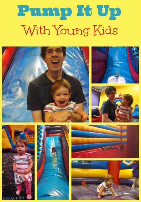 pump it up with toddlers