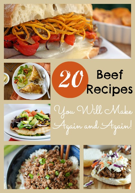 20 beef recipes