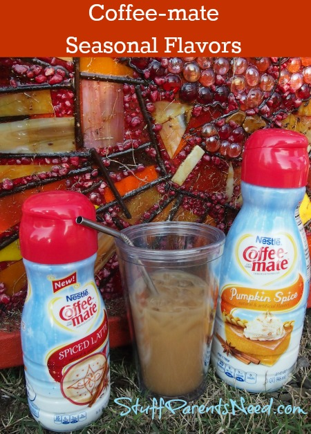 coffee-mate pumpkin spice and spiced latte