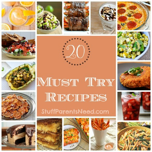 recipes I want to try