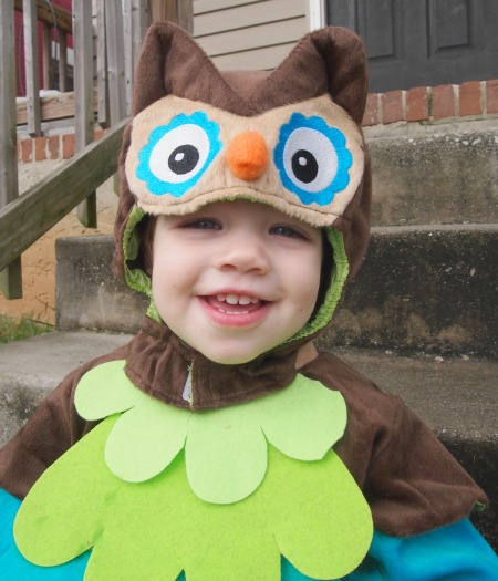 toddler costume owl hat