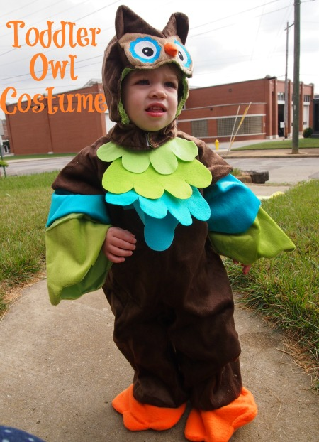 toddler costume: owl