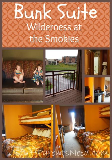 wilderness at the smokies bunk lodge